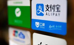中国的移动支付平台市场份额
